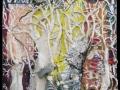 Nagyvárosi furcsaságok (falapon kerámia) 50x70 cm