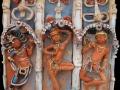 Indiai templom (falapon kerámia) 50x70 cm