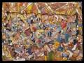 Boogie-woogie klubban (falapon kerámia) 70x50 cm